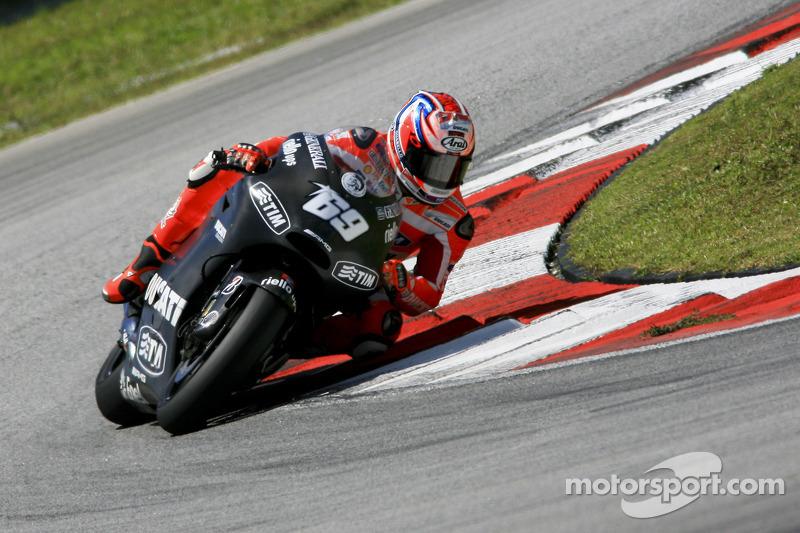 Ducati Sepang test II day 1 report