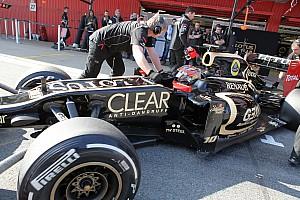 Formula 1 Lotus Barcelona test II -  Day 1 report
