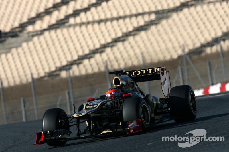 Lotus Barcelona test II - Day 2 report