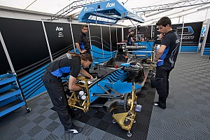 GP3 Carmen Jorda and Robert Cregan are the drivers for Ocean on the GP3 Series