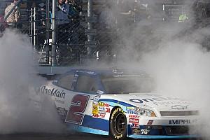 NASCAR XFINITY Sadler uses good pit strategy to win Bristol 300