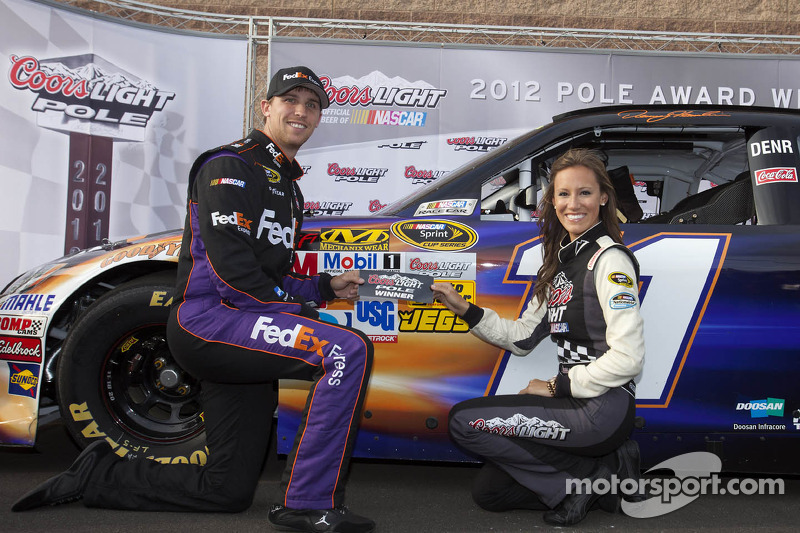 Pole sitter, Hamlin, and Toyota drivers talk about Fontana qualifying