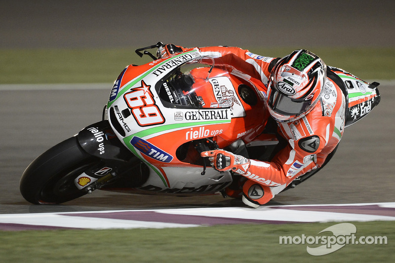 Ducati Qatar GP Thursday report