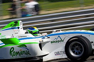 F2 Marinescu goes quickest in opening free practice at Silverstone