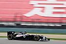 Williams Chinese GP - Shanghai qualifying report