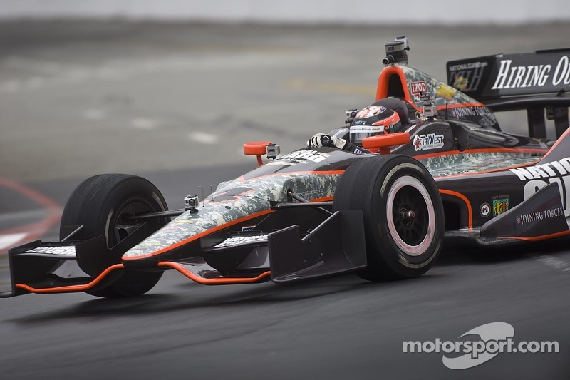 Panther Racing Long Beach qualifying report