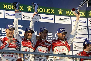 WEC Diesel beats hybrid as Audi sweeps Spa