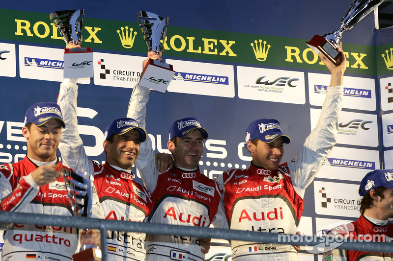 Diesel beats hybrid as Audi sweeps Spa
