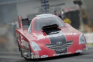 NHRA Pedregon, Brown and Johnson lead Heartland Park Topeka Friday qualifying