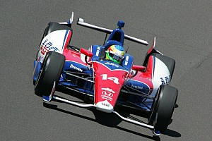 IndyCar AJ Foyt Racing bumped twice on Indy opening day