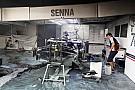 Senna to race 'Barcelona fire car' at Monaco