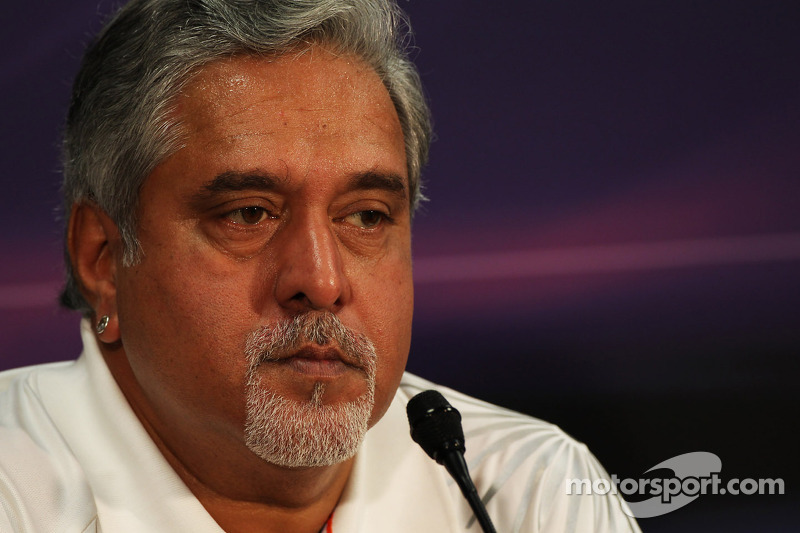 Mallya defends F1 spending amid airline crisis