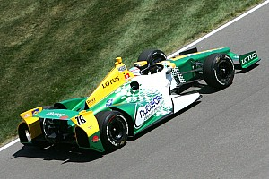 IndyCar Lotus HVM Racing exits Indy 500 earlier than hoped