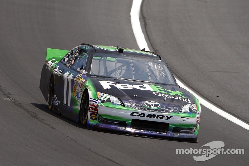 Hamlin, Toyota drivers discuss Charlotte race