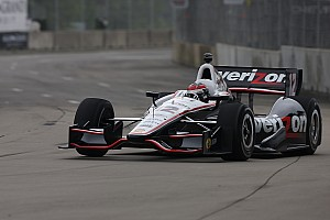 IndyCar Team Penske's Power leads Friday Belle Isle practice