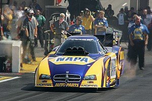 NHRA Capps heads for 5th straight final round appearance, starts from No. 1 spot at Englishtown