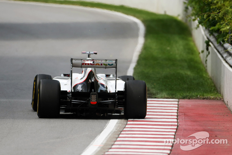 Sauber team had a straightforward start to the Canadian GP