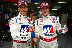 Super GT Kogure in the Honda takes second consecutive Sepang pole position!