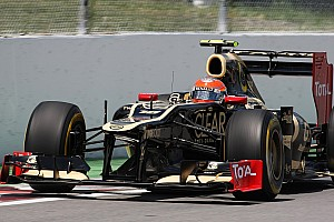 Formula 1 Qualifying key to victory for Lotus