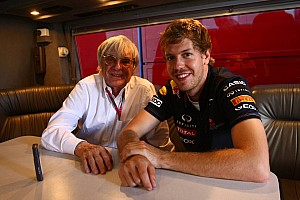 Formula 1 Vettel 'too young' for Ferrari switch - Ecclestone