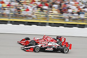 IndyCar Qualifying report Iowa starting grid set with new heat qualifying, Franchitti on the pole