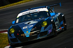 Grand-Am Breaking news Steve Bertheau escapes RA hit without serious injury