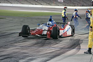 IndyCar Race report Ill-handling race car scuttles Conway chances at Iowa