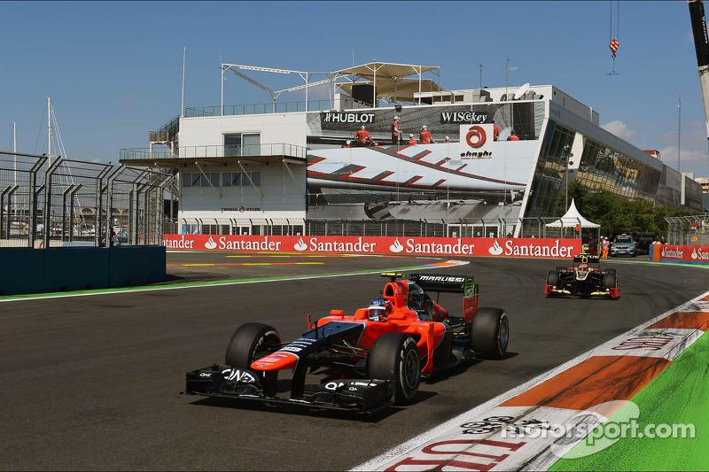 Marussia's Pic earns his best finish grand prix finish in Valencia