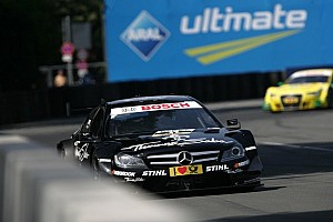 DTM Qualifying report Paffett overcomes heat and his rivals to score the Norisring pole