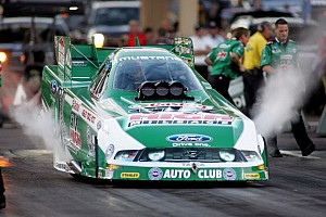 NHRA Qualifying report John Force leads Joliet quals with Schumacher, Johnson and Arana