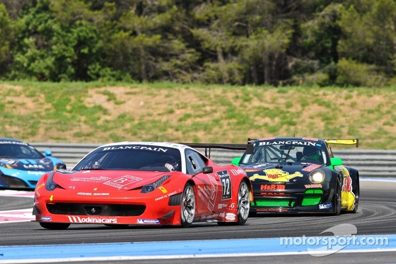 Ferrari grabs pole in frantic Paul Ricard Qualifying