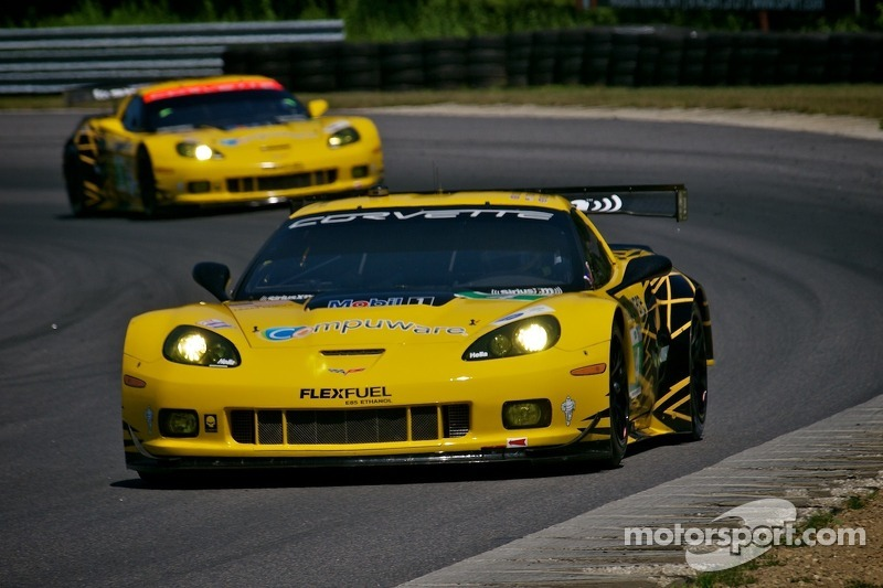 Corvette Racing Lime Rock qualifying hampered by red flag