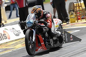 NHRA Qualifying report Andrew Hines joins Friday leaders Torrence, Johnson and Gray to pace Norwalk quals