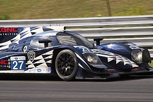 ALMS Race report Dempsey Racing double podiums at Lime Rock with third place in P2 and PC