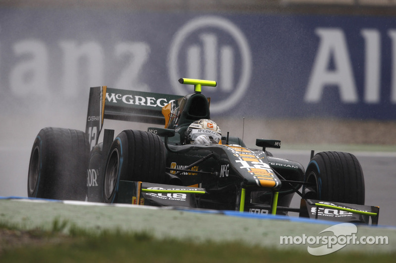 Van der Garde sails to Hockenheim pole