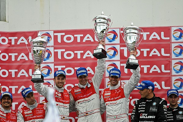 One-two victory of Audi R8 LMS ultra at Spa 24 Hours