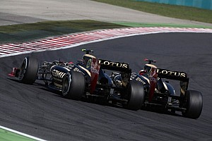 Formula 1 Commentary Lotus 'definitely' eyes same drivers for 2013