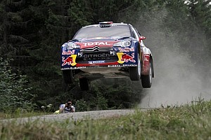 WRC Leg report Loeb remains in Rally Finland lead on day two