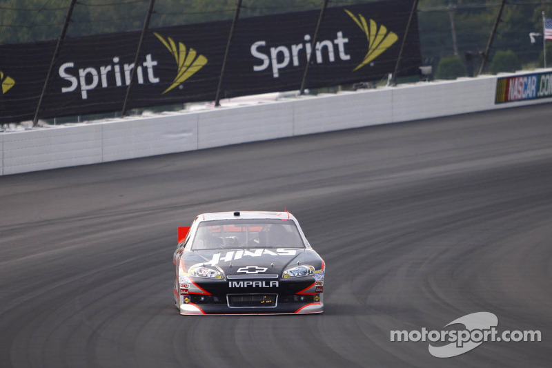 Ryan Newman was hoping to see one more restart in Pocono