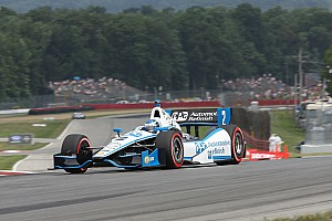 IndyCar Race report Power takes over championship lead with second-place finish at Mid-Ohio to pace team Penske