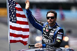 NASCAR Cup Preview Points leader Johnson leads Chevy teams to second Michigan race