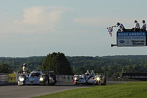 ALMS Race report Dyson, Smith win Road America thriller