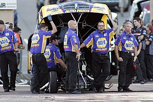 NHRA Race report NAPA's Capps and Tobler take NHRA Funny Car points lead to Indy