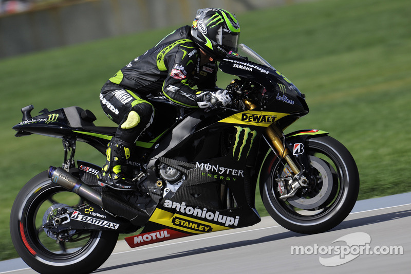 Crutchlow storms to career best qualifying in Brno