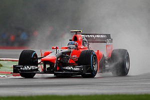 Formula 1 Practice report Pic and Glock use wet practice day at Spa for future data