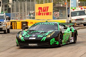 ALMS Race report ESM Patrón finishes third at Baltimore; fourth podium this season