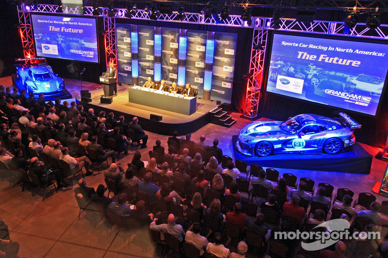 Unification between ALMS and Grand-Am formally announced in Daytona
