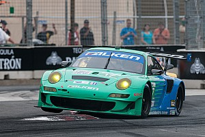 Grand-Am Press conference Amidst monumental ALMS/Grand-AM sports car announcement, Falken Tire stays focused on development