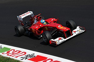 Formula 1 Practice report Tricky day for Ferrari and Alonso at Monza