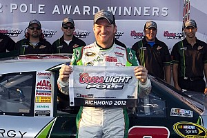NASCAR Cup Qualifying report Earnhardt Jr. speeds to first-ever Richmond pole